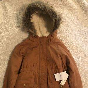 OLD NAVY TODDLER Faux Fur Sherpa Lined Jacket